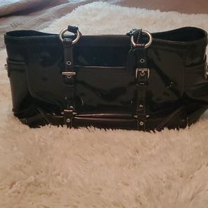 Authentic Coach Patent Leather Tote
